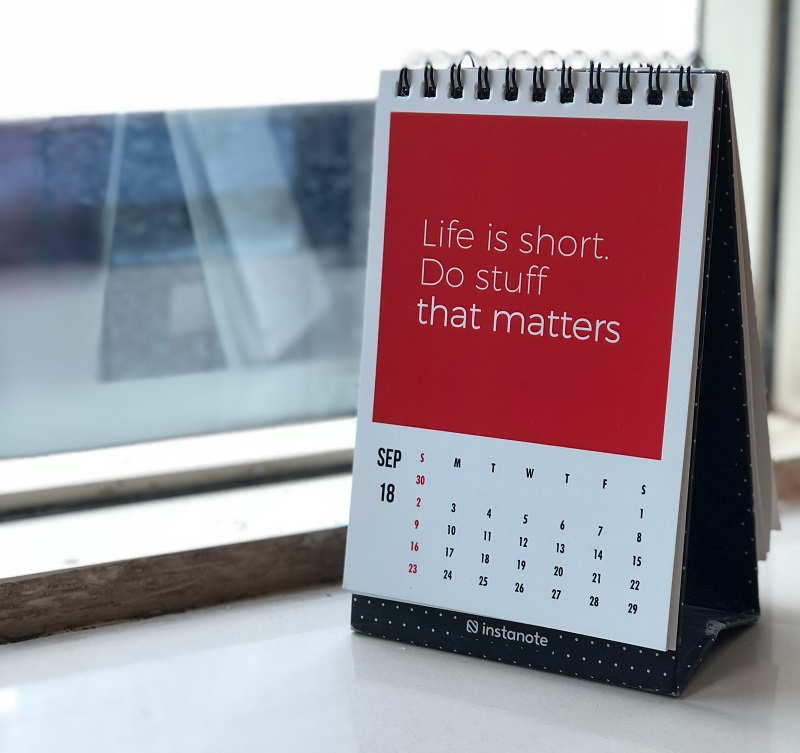 Werbegeschenke - Desktop-Kalender