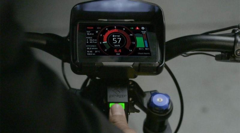 Elektrofahrrad und Geschwindigkeitsanzeige